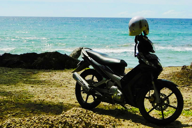 RENT A MOTORBIKE RIDE AT KOH KOOD